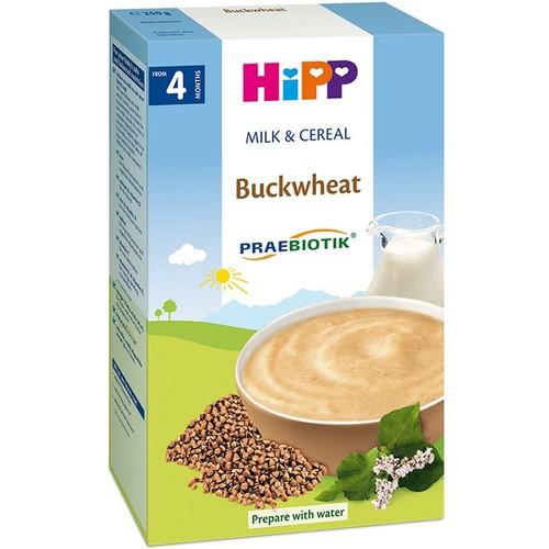 Bột dinh dưỡng hipp sữa, kiều mạch 250g - 4 tháng