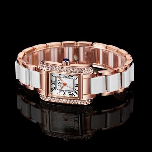 Đồng hồ nữ phiên bản mặt vuông phong cách hàn quốc