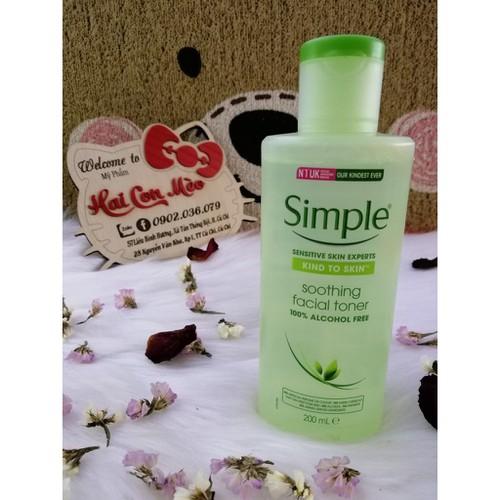 Nước hoa hồng simple smooth facial 200ml