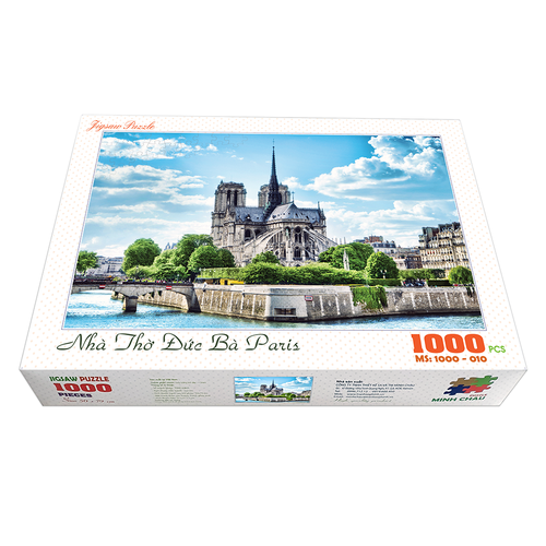Bộ tranh xếp hình cao cấp 1000 mảnh ghép – Nhà Thờ Đức Bà Paris - 11673397 , 19717441 , 15_19717441 , 260000 , Bo-tranh-xep-hinh-cao-cap-1000-manh-ghep-Nha-Tho-Duc-Ba-Paris-15_19717441 , sendo.vn , Bộ tranh xếp hình cao cấp 1000 mảnh ghép – Nhà Thờ Đức Bà Paris