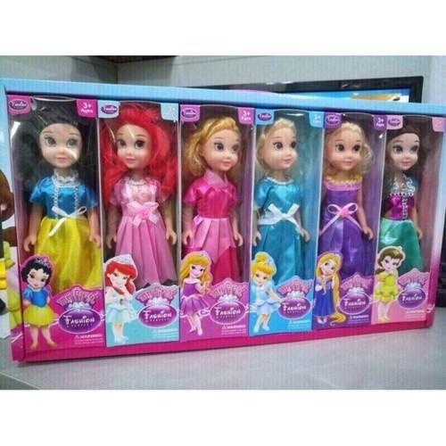 Búp bê barbie có khớp giá thật rẻ có lông mi