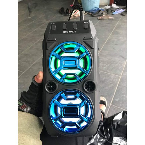 Loa karaoke kts-1062 kèm mic