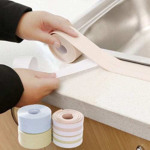 Băng keo pvc dán cạnh bếp , tường chống nấm mốc cuộn 3m2-re0373-băng keo phản quang- băng keo dán cạnh bếp-cuộn băng keo chống ẩm mốc- băng dán chống thấm - băng keo pvc
