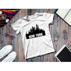 Áo thun in hình những ngôi nhà ở new york