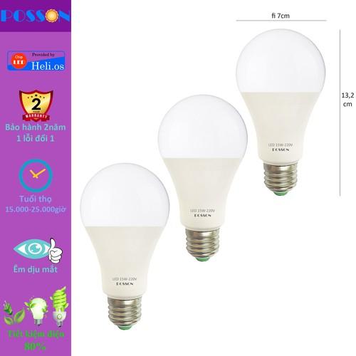 3 bóng đèn led 15w a70 tiết kiệm điện siêu sáng chống nước cao cấp posson lb-h15-15g - 12096627 , 19740272 , 15_19740272 , 78300 , 3-bong-den-led-15w-a70-tiet-kiem-dien-sieu-sang-chong-nuoc-cao-cap-posson-lb-h15-15g-15_19740272 , sendo.vn , 3 bóng đèn led 15w a70 tiết kiệm điện siêu sáng chống nước cao cấp posson lb-h15-15g