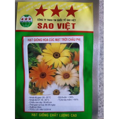 Hạt giống hoa cúc mặt trời châu phi mix - 12098803 , 19743548 , 15_19743548 , 25000 , Hat-giong-hoa-cuc-mat-troi-chau-phi-mix-15_19743548 , sendo.vn , Hạt giống hoa cúc mặt trời châu phi mix