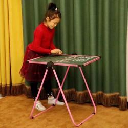 Bàn học kiêm bảng vẽ 2 mặt cho bé