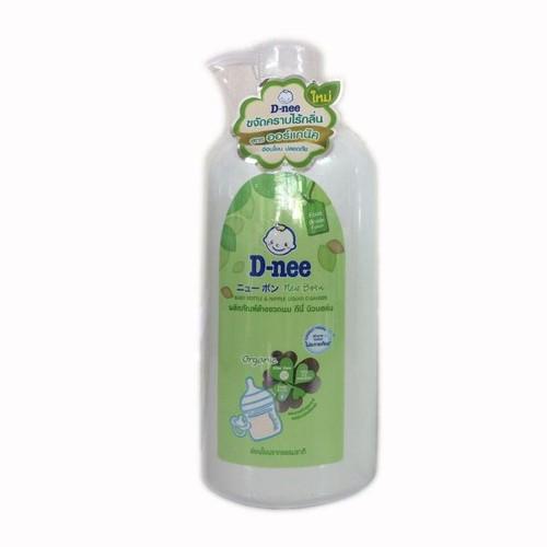 Chai nước rửa bình-sữa và rau quả cho bé Dnee 620ml