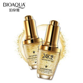 Combo 2 chai Serum vàng 24k dưỡng trắng da Bioaqua - CS44