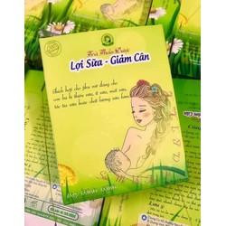 Trà túi lọc thảo dược lợi sữa giảm cân Mẹ Minh Minh (1 hộp)