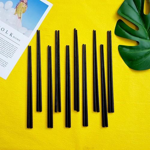 Bộ 10 đôi đũa gỗ tre màu đen cao cấp ĐT03 - Gia dụng bếp