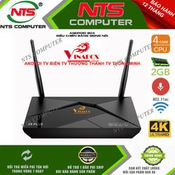 TV BOX VINABOX X9 Plus Android TV 9.0 new Chính Hãng bh 12 tháng