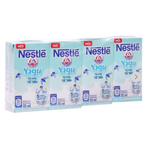 Lốc 4 hộp sữa chua uống nestlé yogu có chứa tổ yến 115ml - 12089636 , 19730273 , 15_19730273 , 25000 , Loc-4-hop-sua-chua-uong-nestle-yogu-co-chua-to-yen-115ml-15_19730273 , sendo.vn , Lốc 4 hộp sữa chua uống nestlé yogu có chứa tổ yến 115ml