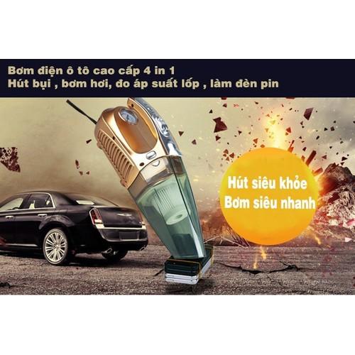 Máy hút bụi xe hơi ô tô cầm tay 4 trong 1 kiêm bơm lốp đèn pin và áp suất có thể hút cả khô và ướt - máy hút bụi cầm tay oto, xe hơi kiêm bơm lốp xe đa năng - 19051841 , 19736092 , 15_19736092 , 500000 , May-hut-bui-xe-hoi-o-to-cam-tay-4-trong-1-kiem-bom-lop-den-pin-va-ap-suat-co-the-hut-ca-kho-va-uot-may-hut-bui-cam-tay-oto-xe-hoi-kiem-bom-lop-xe-da-nang-15_19736092 , sendo.vn , Máy hút bụi xe hơi ô tô cầ