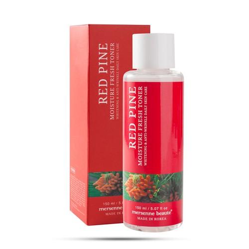 Nước hoa hồng dưỡng ẩm da chiết xuất tinh dầu thông đỏ red pine moisture fresh toner mersenne beaute - 12102951 , 19749830 , 15_19749830 , 240000 , Nuoc-hoa-hong-duong-am-da-chiet-xuat-tinh-dau-thong-do-red-pine-moisture-fresh-toner-mersenne-beaute-15_19749830 , sendo.vn , Nước hoa hồng dưỡng ẩm da chiết xuất tinh dầu thông đỏ red pine moisture fresh