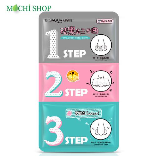 Combo 3 mặt nạ trị mụn đầu đen 3 bước sạch mụn cám, bổ sung dưỡng chất, dưỡng ẩm 3-step kit 15ml nội địa trung - mochi shop - 12120418 , 19776096 , 15_19776096 , 37500 , Combo-3-mat-na-tri-mun-dau-den-3-buoc-sach-mun-cam-bo-sung-duong-chat-duong-am-3-step-kit-15ml-noi-dia-trung-mochi-shop-15_19776096 , sendo.vn , Combo 3 mặt nạ trị mụn đầu đen 3 bước sạch mụn cám, bổ sung d