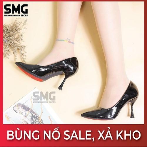 [SIÊU KHUYẾN MÃI] Giày cao gót VNXK, giày cao gót công sở, giày cao gót da xịn - Không vừa đổi size - SMG Shoes - 11673887 , 19764705 , 15_19764705 , 450000 , SIEU-KHUYEN-MAI-Giay-cao-got-VNXK-giay-cao-got-cong-so-giay-cao-got-da-xin-Khong-vua-doi-size-SMG-Shoes-15_19764705 , sendo.vn , [SIÊU KHUYẾN MÃI] Giày cao gót VNXK, giày cao gót công sở, giày cao gót da x