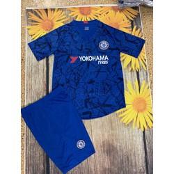 Quần áo bóng đá chelsea trẻ em 2020