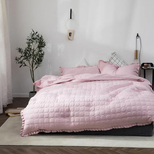 Bộ chăn ga gối 4 món cotton đũi chăn hè dh-6 hồng nhạt - 12108202 , 19757734 , 15_19757734 , 1049000 , Bo-chan-ga-goi-4-mon-cotton-dui-chan-he-dh-6-hong-nhat-15_19757734 , sendo.vn , Bộ chăn ga gối 4 món cotton đũi chăn hè dh-6 hồng nhạt