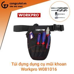 Túi đeo đựng mũi khoan Workpro W081016