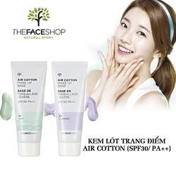 Kem Lót Kiềm Dầu Air Cotton Makeup Base SPF30