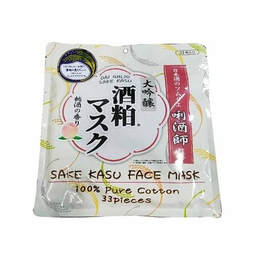 Mặt nạ sake kasu face mask 33 miếng nhật bản