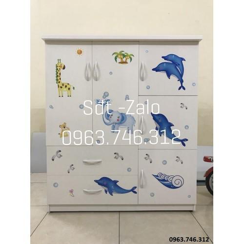 Tủ nhựa đài loan mẫu tb05