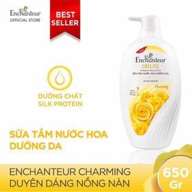 Sữa tắm Enchanteur Deluxe Charming 650g giá tem 166k hàng công ty - STE009