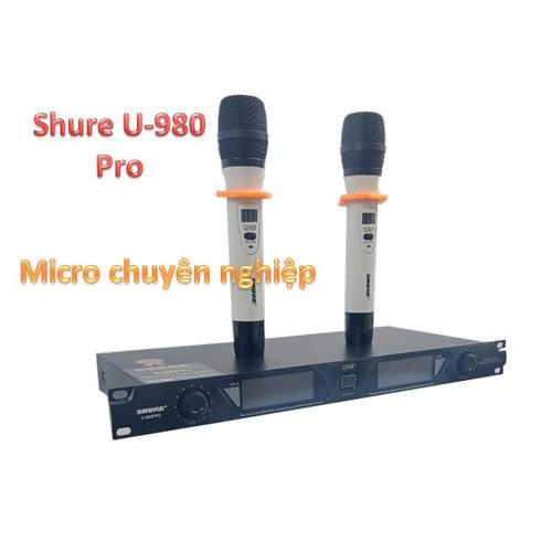 Mic không dây u-980 siêu tố không dây u-980 siêu tốt