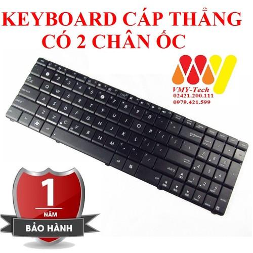 Bàn phím laptop asus  x52n x52f x53e k73e k73s k73sm k73sv