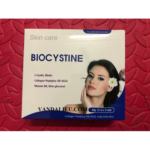 Biocystine viên uống đẹp da, mọc tóc, chống lão hóa hộp 12 vỉ x 5 viên - 12120240 , 19775848 , 15_19775848 , 380000 , Biocystine-vien-uong-dep-da-moc-toc-chong-lao-hoa-hop-12-vi-x-5-vien-15_19775848 , sendo.vn , Biocystine viên uống đẹp da, mọc tóc, chống lão hóa hộp 12 vỉ x 5 viên