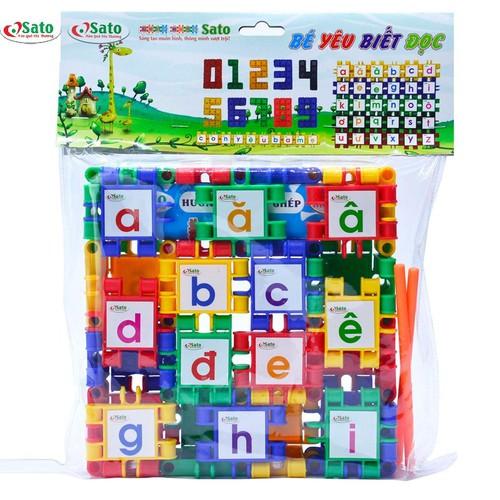 Đồ chơi lắp ghép bé yêu biết đọc cho bé học chữ cái và số đếm - 12106551 , 19755408 , 15_19755408 , 169000 , Do-choi-lap-ghep-be-yeu-biet-doc-cho-be-hoc-chu-cai-va-so-dem-15_19755408 , sendo.vn , Đồ chơi lắp ghép bé yêu biết đọc cho bé học chữ cái và số đếm