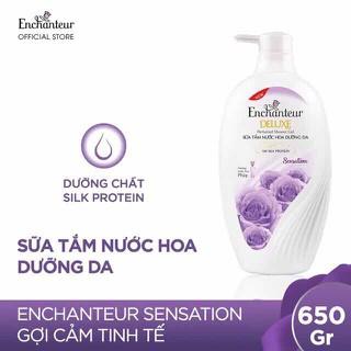 Sữa tắm Enchanteur Sensation 650g giá tem 166k - STE01 thumbnail