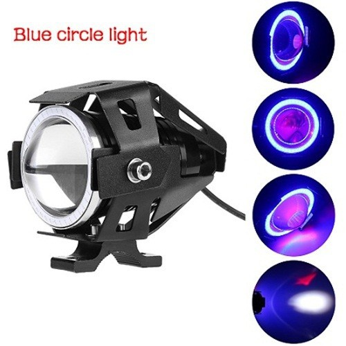 Đèn led u7 angel eyes trợ sáng gắn cho xe máy ôtô