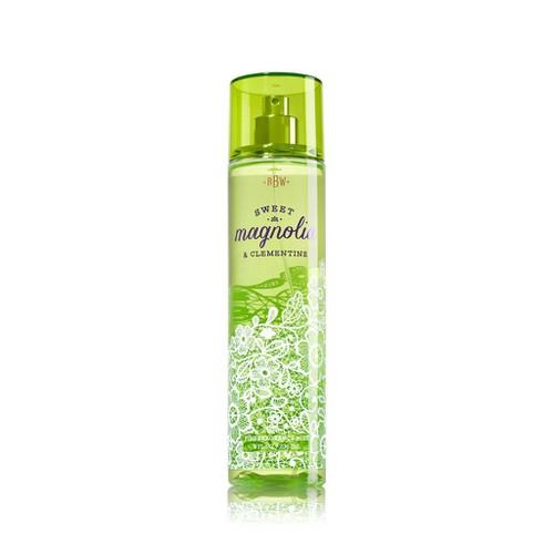 [Auth - có quà] xịt thơm toàn thân sweet magnolia & clementine - bath & body works 236 ml  ®