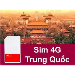 Sim Trung Quốc 3G-4G, Sim Du Lịch Trung Quốc Tốc Độ Cao