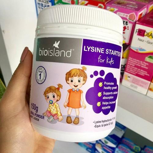 Bột tăng chiều cao bio island lysine starter