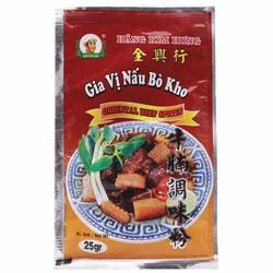 Thanh Hóa - Combo 2 gói Bột gia vị bò kho Kim Hưng gói 25g