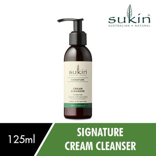 [Auth - có quà] sữa rửa mặt dạng kem sukin cream cleanser 125ml
