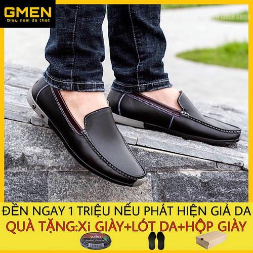 Giày lười nam-giày mùa hè-giày mọi nam-giày da nam-giày nam đẹp-giày rọ nam-giày nam da bò