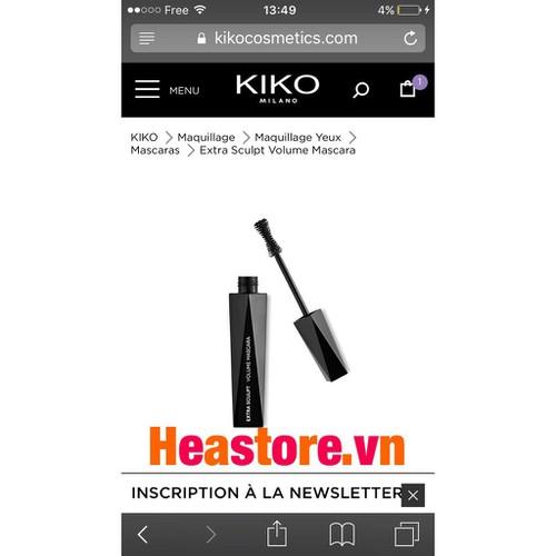 Mascara Kiko Hàng nội địa Pháp