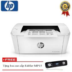Máy in laser trắng đen HP Pro M15A - Siêu nhanh - Siêu bền - Tiết kiệm mực in - Tặng kèm loa cao cấp Edifier MP15