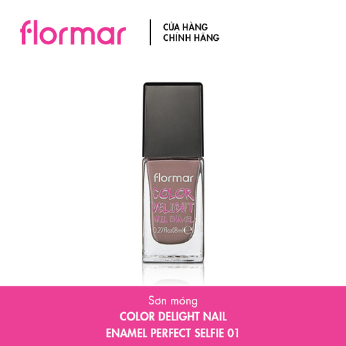 Sơn Móng Flormar Color Delight Nail Enamel 8ml