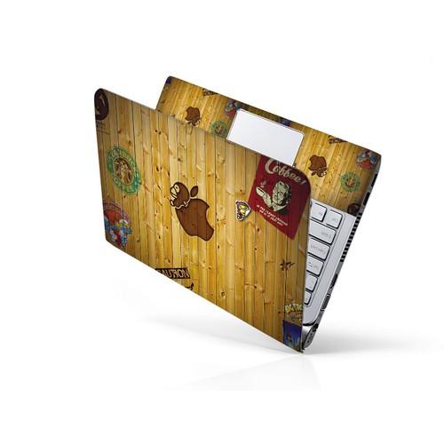 Mẫu dán trang trí laptop nghệ thuật ltnt-114