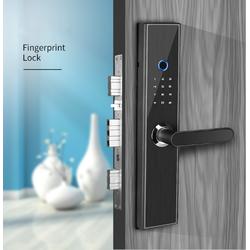 HaruShop168 - Khóa cửa điện tử thông minh 6 chức năng SmartEuro - tặng 4 thẻ IC