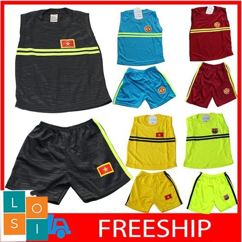 Freeship set 5 bộ đồ thể thao sát nách cho bé trai 1-4 tuổi, bộ quần áo đá bóng sát nách thoáng mát ngày hè cho bé từ 5kg - 20kg, combo 4 bộ đồ đá bóng losi - lssnxdvadedqdd - 12580166 , 20410551 , 15_20410551 , 245000 , Freeship-set-5-bo-do-the-thao-sat-nach-cho-be-trai-1-4-tuoi-bo-quan-ao-da-bong-sat-nach-thoang-mat-ngay-he-cho-be-tu-5kg-20kg-combo-4-bo-do-da-bong-losi-lssnxdvadedqdd-15_20410551 , sendo.vn , Freeship set