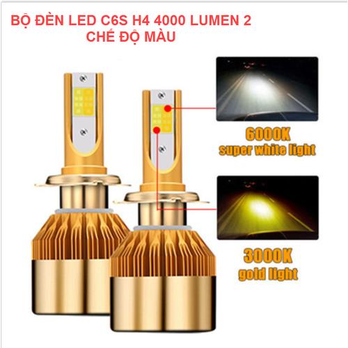 Đèn pha xe máy - bóng đèn led c6s h4 4000 lumen 2 chế độ màu - một bóng c6s h4 4000 2 chế độ - 12276766 , 20422121 , 15_20422121 , 380000 , Den-pha-xe-may-bong-den-led-c6s-h4-4000-lumen-2-che-do-mau-mot-bong-c6s-h4-4000-2-che-do-15_20422121 , sendo.vn , Đèn pha xe máy - bóng đèn led c6s h4 4000 lumen 2 chế độ màu - một bóng c6s h4 4000 2 chế đ