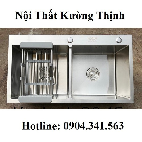 Chậu rửa bát korea 8245c - 12579433 , 20409593 , 15_20409593 , 2800000 , Chau-rua-bat-korea-8245c-15_20409593 , sendo.vn , Chậu rửa bát korea 8245c