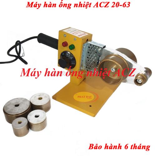 Máy Hàn Ống Nhiệt PPR ACZ 20-63 800W-Có Điều Chỉnh Nhiệt Độ Hàn 0-300 độ - 20-63ACZ - ACZ 20-63 - 11682564 , 20408895 , 15_20408895 , 280000 , May-Han-Ong-Nhiet-PPR-ACZ-20-63-800W-Co-Dieu-Chinh-Nhiet-Do-Han-0-300-do-20-63ACZ-ACZ-20-63-15_20408895 , sendo.vn , Máy Hàn Ống Nhiệt PPR ACZ 20-63 800W-Có Điều Chỉnh Nhiệt Độ Hàn 0-300 độ - 20-63ACZ - AC