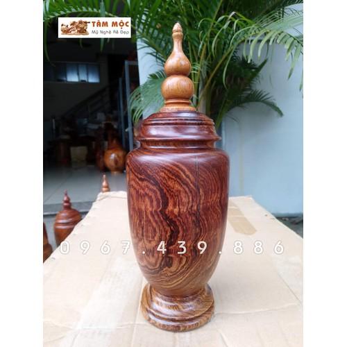 Lọ gỗ trang trí gỗ cẩm lai – pq102 - 12463677 , 20423061 , 15_20423061 , 800000 , Lo-go-trang-tri-go-cam-lai-pq102-15_20423061 , sendo.vn , Lọ gỗ trang trí gỗ cẩm lai – pq102